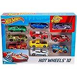 Hot Wheels 10 Cars Gift Pack, Assortment
