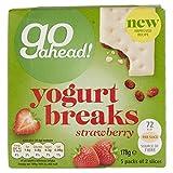 Go Ahead Yogurt Breaks Strawberry 2 Slices (5 Pack)