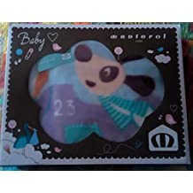Manterol manta cuna bebé Aviador 110 x 140 cm en caja decorativa