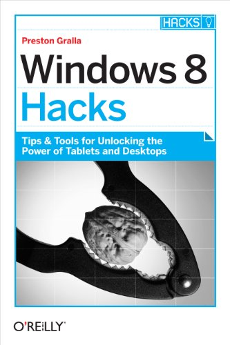 Windows 8 Hacks: Tips & Tools for Unlocking the Power of Tablets and Desktops (English Edition)