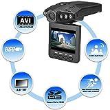 """Cámara grabadora de vídeo 1280P HD LCD de 2,5"""" noche VISION CCTV en-coche DVR accidente VIDEO prueba"""