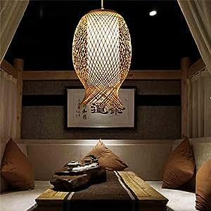 japanische bambus weben lampen koreanisch chinesisch s dost pastoral wohnzimmer schlafzimmer. Black Bedroom Furniture Sets. Home Design Ideas