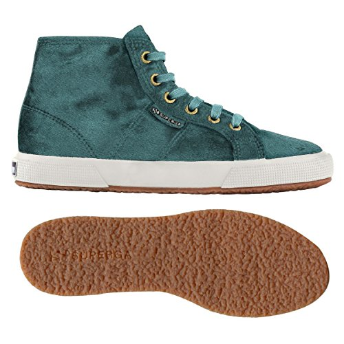 Superga 2095-Plus Leahorsew, Chaussures de Gymnastique Femme BLUE OTTANIO