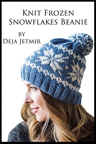 Knit Frozen Snowflakes Beanie (English