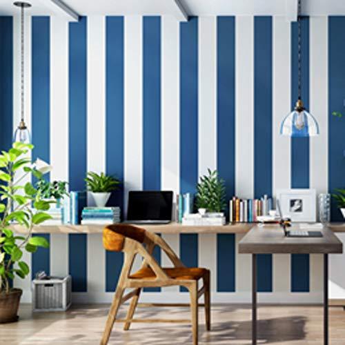 Rosa blau breit gestreiften Tapete für Kinderzimmer Wandtattoo selbstklebende Schlafzimmer Wohnzimmer Streifen Tapeten Wohnkultur