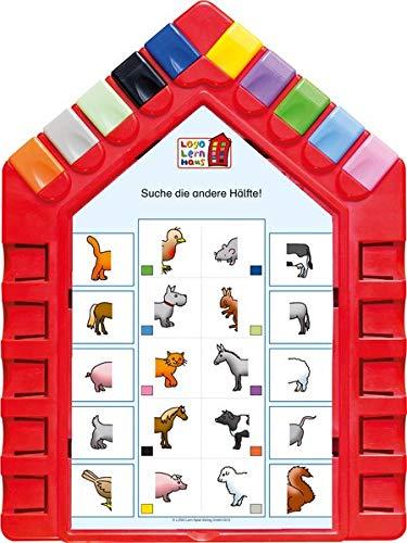 Logo Lernhaus: Set 1 Kinderwissen 3-4-jährige Kinder - Karte überall Und Spielen