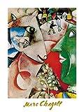 Marc Chagall Poster / Kunstdruck I and the village, 1911 60 x 80 cm