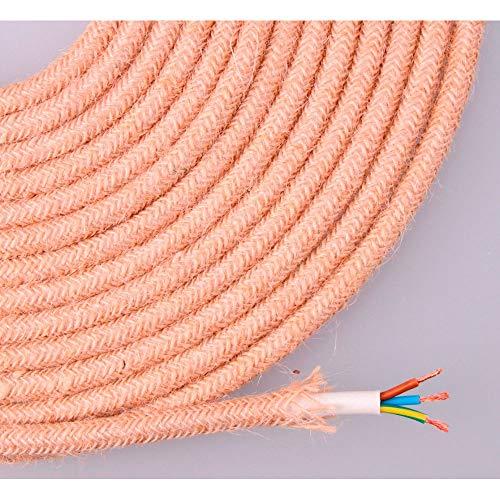EDM Seil aus Geflochtenem Jute, 3 x 0,75 m