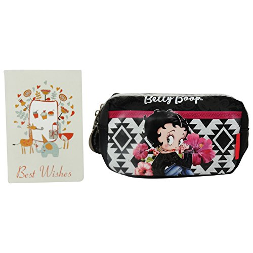 Betty Boop Tribal Pochette Maquillage Make-Up Beauty Vanity Trousse