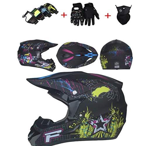 Männer Motorradhelme Off Road Motorrad Moto Helm Motocross Sicherheitskappen für alle Jahreszeiten