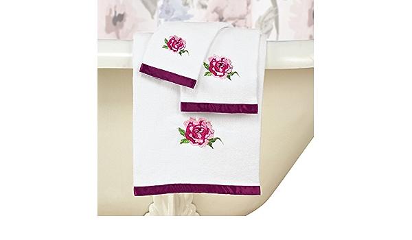 Mnsruu Asciugamani da Bagno Fiore di Cactus Asciugamano da Bagno Morbido Assorbente per Bagno Palestra e Spa 76 x 38 cm Hotel