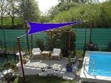 Coolaroo Sonnensegel Dreieck 360 cm Farbe blau