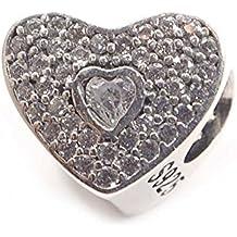 11 Charms 100% Plata de Ley 925 para pulseras para charms tipo Pandora, Chamilia, Biagi, Swarovski. Abalorios,beads,dijes,charms plata