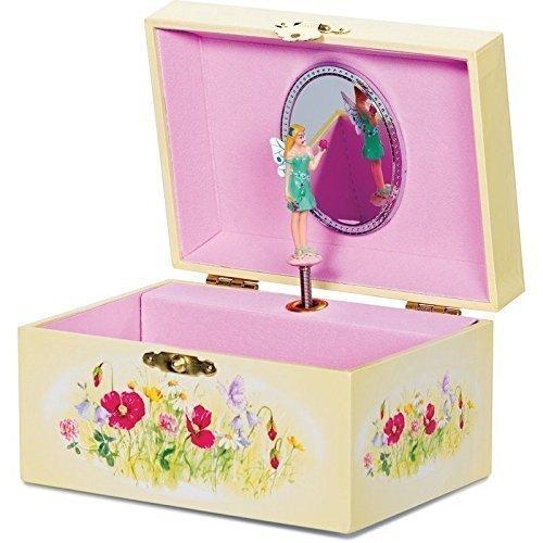 Preisvergleich Produktbild Traditionelles Kabeltrommel Rosa Musical Packs mit drehbar Fee Mädchen Weihnachtsgeschenk