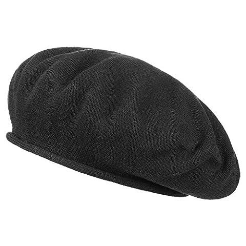 Beret Femme Noir - Beret en Coton Hanna beret basque beret