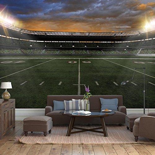 Fototapete American Football Stadium Vlies Tapete Wandtapete   Tapete    Moderne Wanddeko   Wandbilder   Fotogeschenke