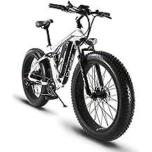Bicicleta de montaña eléctrica Extrbici XF800 1000W 48V 13A ATV Eléctrica de venta limitada en todo el mundo Soporte de carga USB con suspensión completa y ...