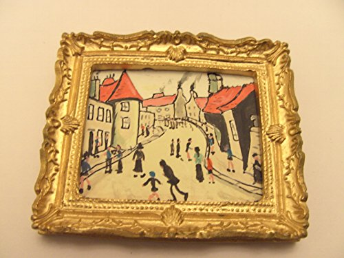 ooak-1-12th-dolls-house-miniature-painting-ls-lowry-street-musicians