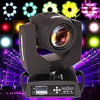 Samger 230W 7R Moving Head Light 16CH Stage Beam Light 17 Gobo DMX Zoom Lighting for DJ Disco Club Party