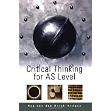 brink-budgen critical thinking for students