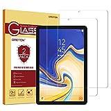 OMOTON Galaxy Tab S4 Protector de Pantalla, Crsital Templado, Anti-Huellas, Anti-despegamientos, Anti-Burbujas, Protector Palatal Crsital Templado Exclusivamente para Samsung Galaxy Tab S4 [2 Piezas]
