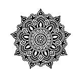 Chytaii. Retro Mandala Decorativa De Pared De Dormitorio Pintura Colgante para Pared Pegatinas Decorativas Pared Flores