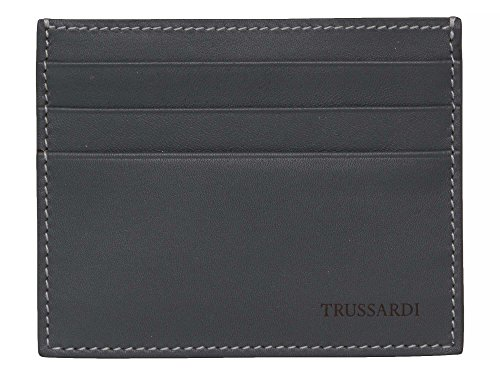 trussardi-messieurs-porte-carte-cuir-veritable-gris-bleu-one-size