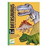 Djeco- Batasaurus, Juego de Cartas, (35136A)