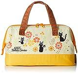 SKATER - borsa termica, 22 cm x 11,5 cm x 16 cm, con rivestimento a isolamento termico, mantiene il freddo e il caldo, KGA1, realizzata in Giappone Studio Ghibli Kiki's Delivery Service Jiji (yellow)