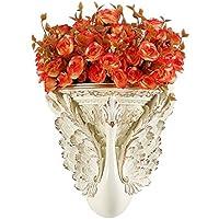 DECORACIÓN ZHAOSHUNLI Pared Colgante Corredor Colgando Maceta Flor Artificial Sala de Estar Arreglo Floral 26 *