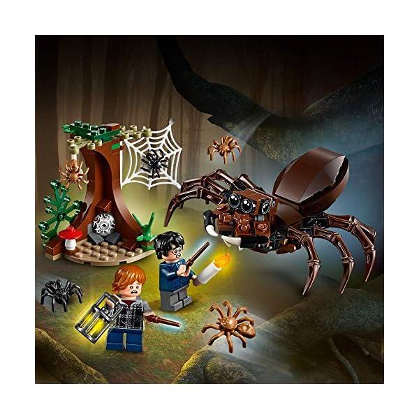 LEGO Harry Potter - Guarida de Aragog, Juguete de Construcción de Aventuras Basado en la Película (75950) 5