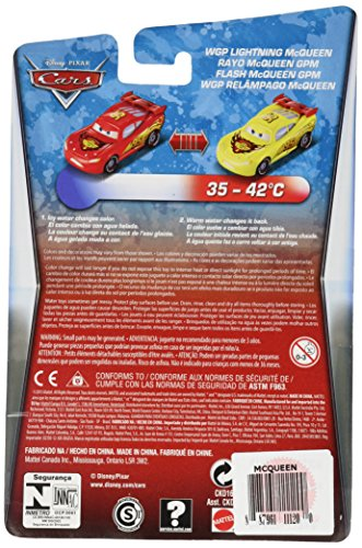 Image of Disney Pixar Cars CKD16 Colour Change (Color Changers Cars Lightning McQueen