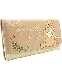 Winnie The Pooh Made Especially for you Orange Coin & Card Tri-Fold Purse