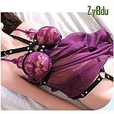 ZyBdu Halten Sie Die Brust Sexspielzeug Erhöhen Sie Das Sexuelle Verlangen Sexy Bikini Brust DREI Punkt Sexspielzeug Für Paare Extrem Paar-Porno-Spiele,A