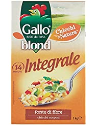 Gallo Blond Integrale Chicchi Corposi e Ricchi di Gusto - 1000 gr