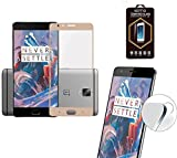 OnePlus 3 / OnePlus 3T : Protection d'écran FULL Cover en verre trempé - Tempered...