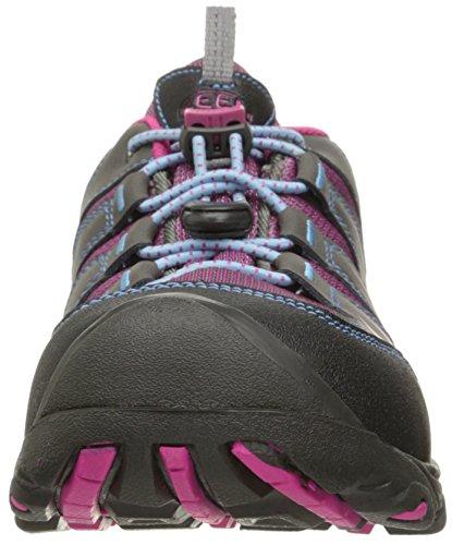 Keen Mädchen Oakridge Low Wp Trekking-& Wanderhalbschuhe Pink (Magnet/Very Berry)