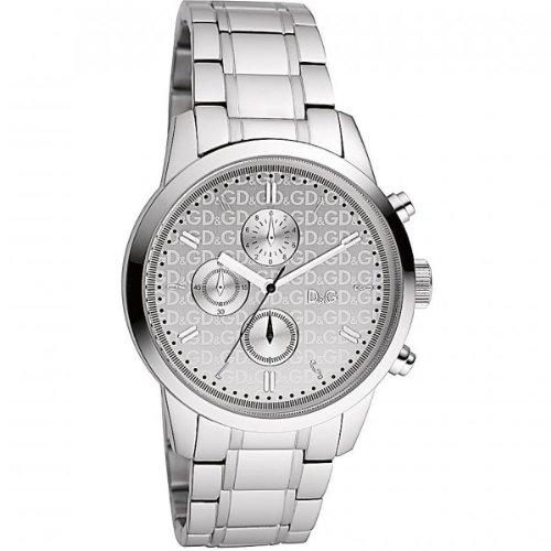 D&G Dolce&Gabbana DW0750 - Reloj para hombres, correa de acero inoxidable