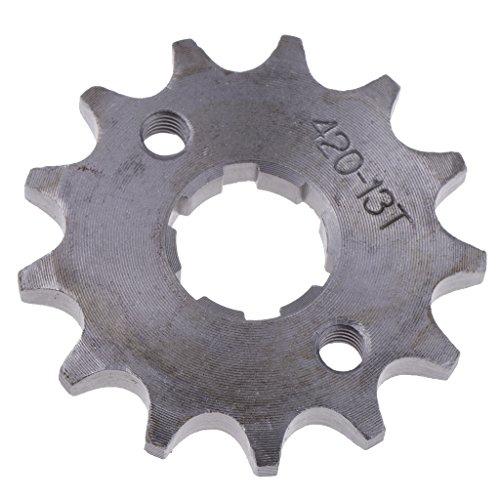 Baoblaze 1 Stück 13 Zähne Kettenrad Antrieb und Getriebe Kettensätze Für 125cc 140cc Pit Dirt Bike