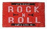 Musique Paillasson Essuie-Pieds - It\'s Only Rock N Roll, Retro Style (70 x 40 cm)