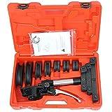 cgoldenwall tb-22Hydraulische Manuelle Rohrbiegemaschine Tube Biegen Tools Zange Schlauch Biegen Maschine mit Zoll Größe für 1/10,2cm 5/40,6cm 3/20,3cm 1/5,1cm 5/20,3cm 3/10,2cm 7/20,3cm