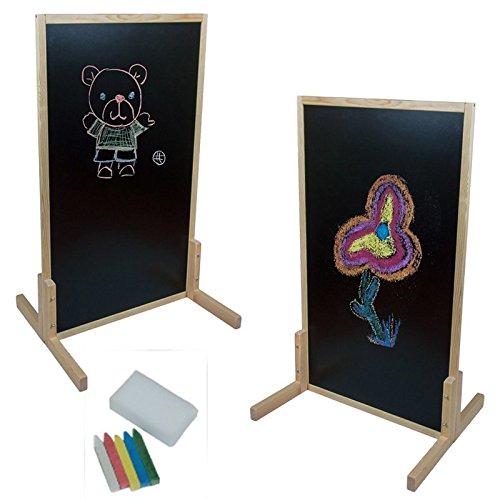 doppelseitige Standkindertafel, 111x66cm Kindertafel Standtafel Schreibtafel Stehtafel