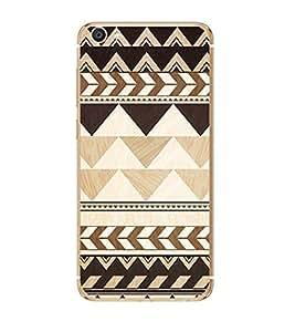 Fuson Designer Back Case Cover for Vivo X7 Plus (design art rangoli artwork)