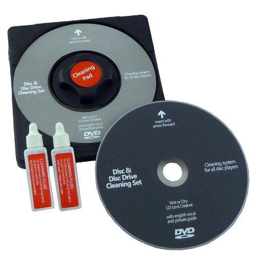 DVD Laser Lens Cleaner-Reinigung Disc und Fluid Dvd-cleaner Disc