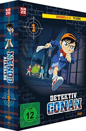 Bild von Detektiv Conan - Box 1 (Episoden 1-34) [6 DVDs]