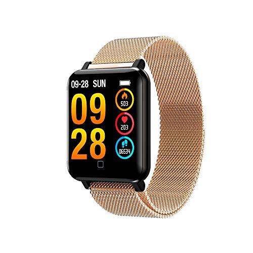 OPAKY Smart Watch Armband Sport Schrittzähler Herzfrequenz Schlaf Blutdruckmessgerät für Kinder, Damen, Männer