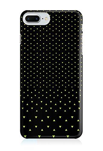 COVER Neon gelb Mini Dreieck Design Handy Hülle Case 3D-Druck Top-Qualität kratzfest Apple iPhone 7