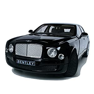 1:18 Licensed Bentley Mulsanne Die Cast Metal Scaled Down Detailed Interior Model For Collectors
