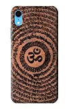 Innovedesire Om Symbol Tattoo Etui Coque Housse pour iPhone XR
