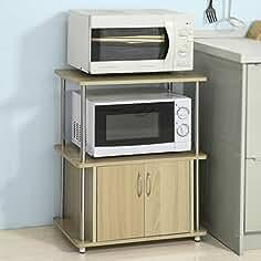 SoBuyFRG260-N,Mueble multiusos de cocina,Aparador auxiliar ...
